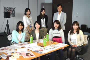 商品開発も女性スタッフが担当