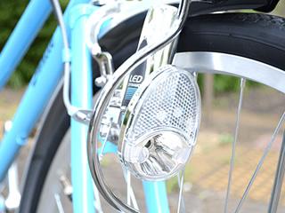 ダイナモ式ライト(電球、LED)