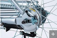ブリヂストン(BRIDGESTONE) アルベルト(albelt)のおすすめポイント⑤高い制動力のフィン付ローラーブレーキ